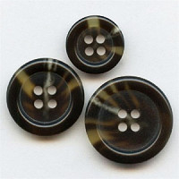 HNA-503- Brown Suit  Button - 3 Sizes