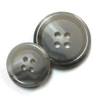HNX-13- Grey Suit Button - 2 Sizes