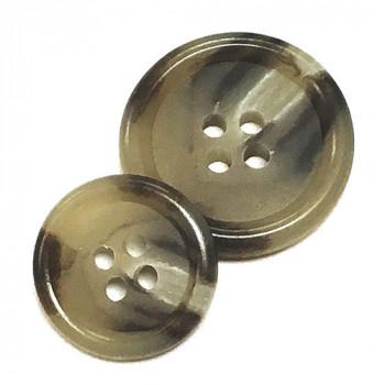 HNX-320-Tan Suit Button - 2 Sizes