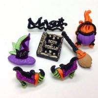 JJ-7596 Halloween Buttons