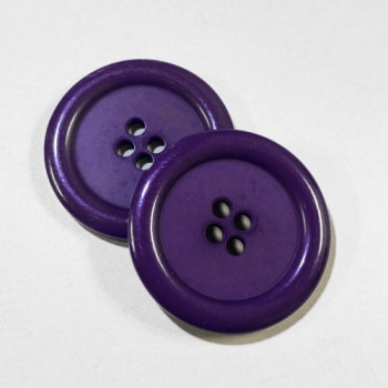 "KB-807 Large, 1"" Purple Button, Priced by the Dozen - (SAVE WHEN BUYING 12 DOZEN OR MORE!)"