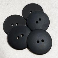 KB-814BK Matte Black Button, 8 Sizes - Priced by the Dozen