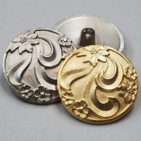M-041-Metal Fashion Button