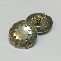 M-1201 - Metal Concho Button