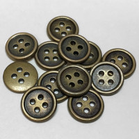 M-1212-Metal Shirt Button - Priced Per Dozen