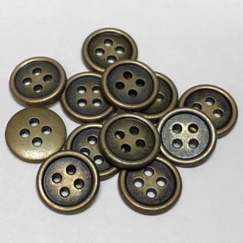 M-1212-Metal Shirt Button - Priced Per Dozen