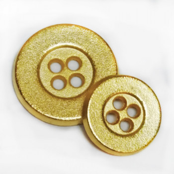 M-1275A - Matte Gold Button - 3 Sizes