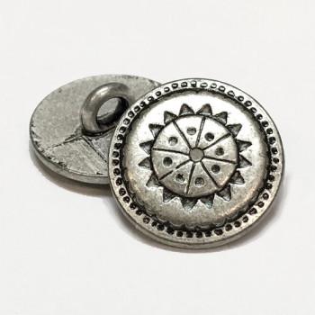 M-1503-D - Southwestern Metal Button, Priced Per Dozen