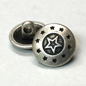 f839f6158a M-153-Star Design Metal Shirt Button, Priced per Dozen