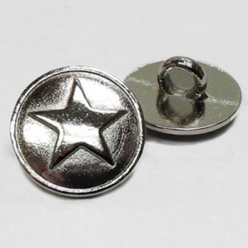 M-177 - 5-Point Star Metal Button
