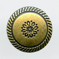 M-307-Southwestern Metal Shank Button