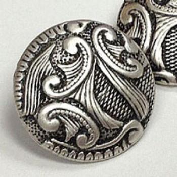 """M-5096 Metal Fashion Button, 7/8"""""""