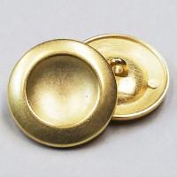 M-7844-Matte Gold Metal Button