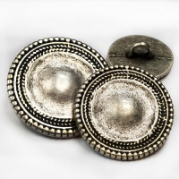 M-811 Metal Fashion Button - 3 Sizes