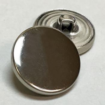 MTL-055  Silver Blazer Button, 2 Sizes