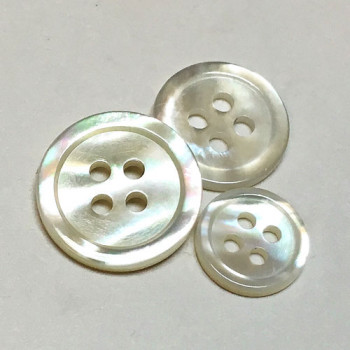 MPA-117 - Mother of Pearl Button - 5 Sizes