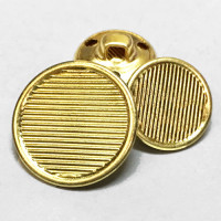 MTL-207-Gold Blazer Button - 2 Sizes
