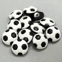 NV-4815-Soccer Ball Button, Sold by the Dozen