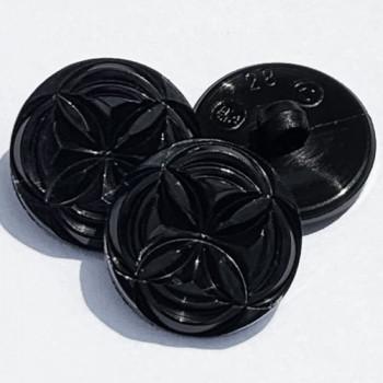 NV-1904 - Black Fashion Button - 2 Sizes