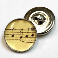 OCA-098-Musical Notes Button