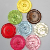 P-1899-Pearl Look Button - 8 Colors