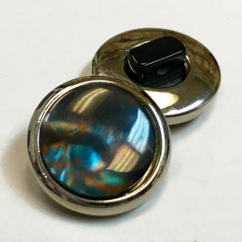 PP-5600-Nickel and Tahiti Pearl Button