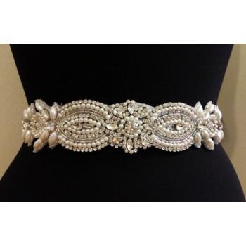 RA-265 Wedding Belt Applique Bridal Belt