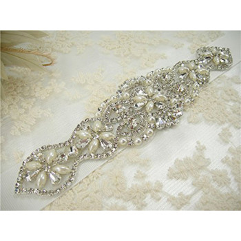 RA-266  Bridal Belt Applique