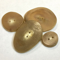 RH-310 Real Horn Slice Button - 4 Sizes