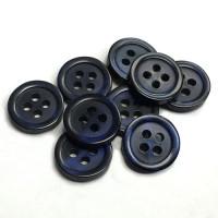SB-001-RB- Dark Blue Shirt Button - 3 Sizes, Priced per Dozen