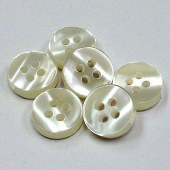 SB-010  Dress Shirt Button - 3 Sizes - 3 mm, Priced per Dozen