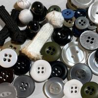 Uniform, Lab Coat, Suspender Buttons