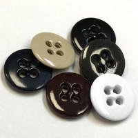 WBA-02 - Melamine Suspender Button - 6 Colors - Priced by the Dozen or Gross