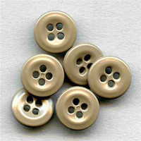 WBB-04 - Tan Shirt or Uniform Button, Sold by the Dozen
