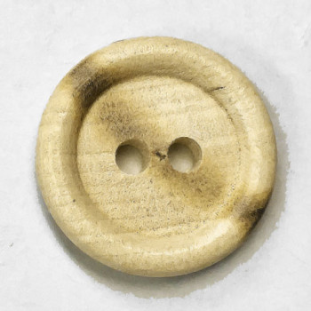 WD-201A - Burnt Wood Button