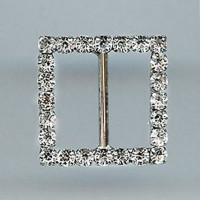 Z-305-Small Crystal Rhinestone Buckle