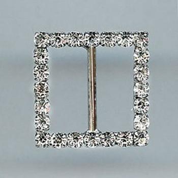 Z-305-Small Crystal Rhinestone Buckle