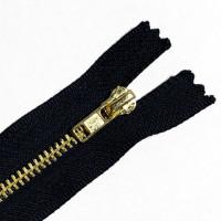 ZPB-5DN9 - #5 Brass Zipper - 9 inch, Dark Navy