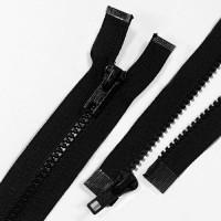ZPM-5BK12 - #5 Molded Plastic Separating Zipper - 12 inch, Black