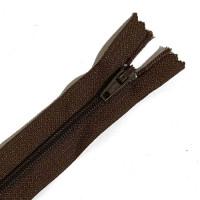 ZPN-3BR7 - #3 Nylon Zipper - 7 inch, Brown