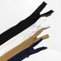 ZPN-4INV18 - #4 Nylon Invisible Zipper - 18 inch, 3 Colors