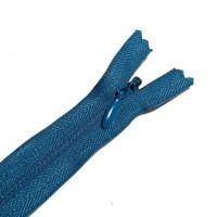 ZPN-4INV-B8 - #4 Nylon Invisible Zipper - 8 inch, Blue