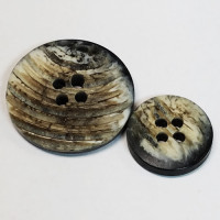 H-1275-Real Horn Look Button
