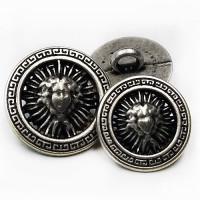 M-7912A-Fashion Metal Button, 4 Sizes